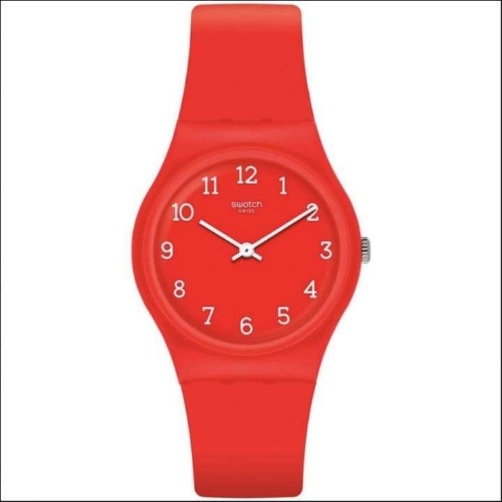 Reloj Swatch Skin Rojo Femenino - 0