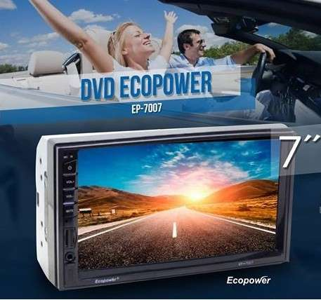 Autoradio Ecopower con pantalla táctil de 7 pulgadas - 0