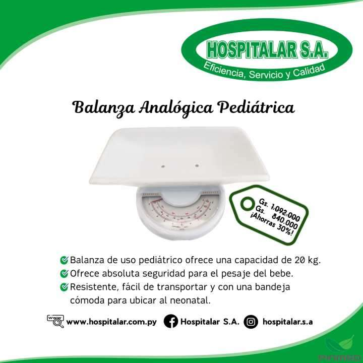 Balanza analógica pediátrica - 0