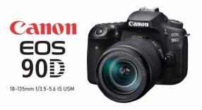 Cámara Canon EOS 90D Kit 18-135mm