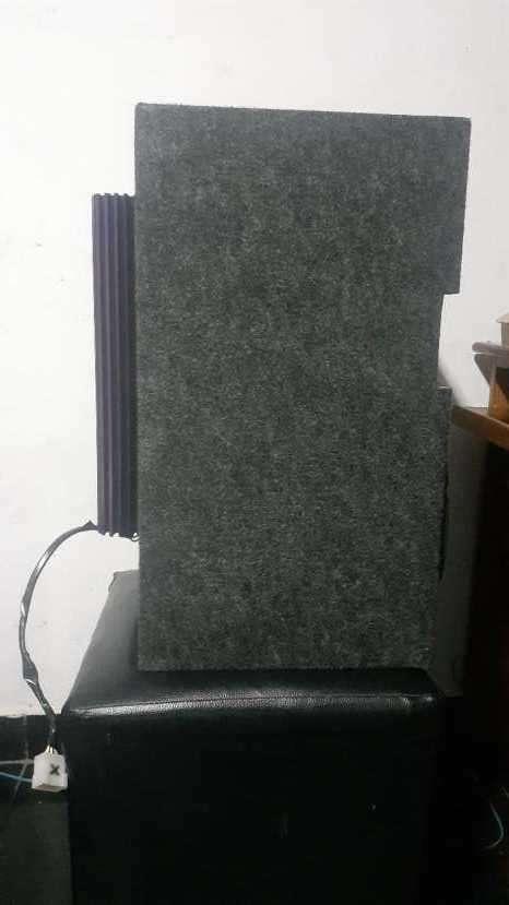 Caja trío con amplificador de 1.000W - 1