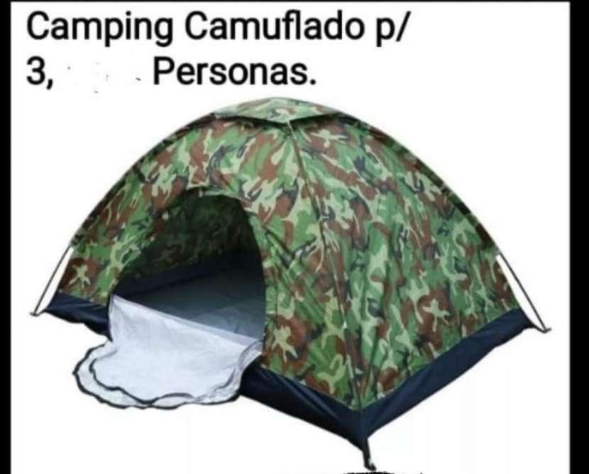 Camping para 3 personas - 0