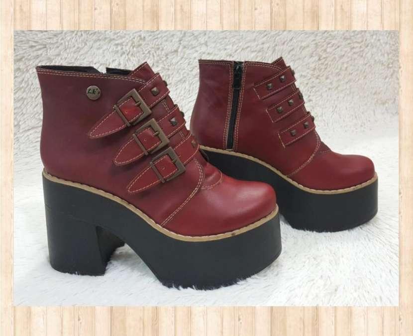 Botas de cuero para damas - 2