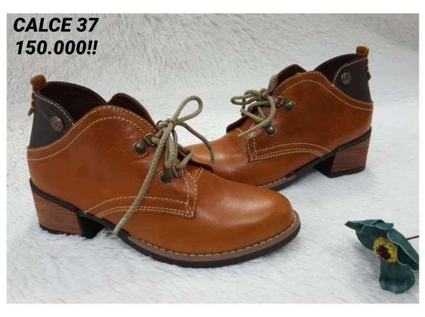 Botas de cuero para damas - 3