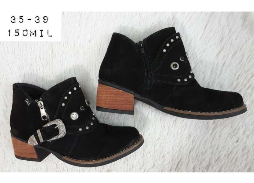 Botas de cuero para damas - 5