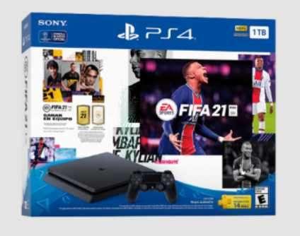 PS4 1TB 2215b + FIFA 2021 Bivolt - 0