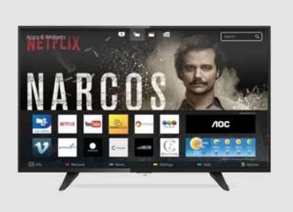 Smart TV AOC 49 pulgadas Le49s5970 FHD - 0