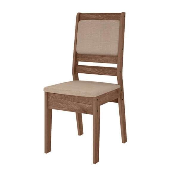 Juego de comedor 6 sillas Lotus cedro Celta Abba (4206) - 2