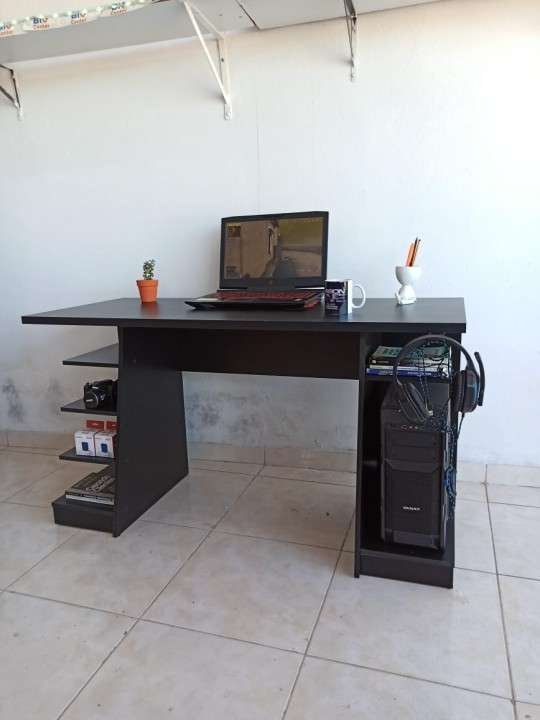 Escritorio gamer NT2020 Abba negro (3141) - 0
