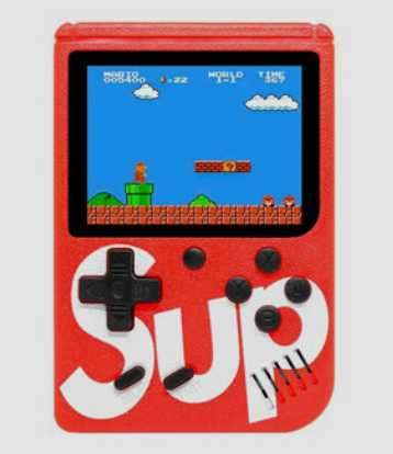 Consola Sup Game Box Bplus 400 en 1 Rojo - 0