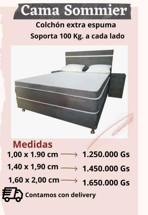 Sommier de 100x190 - 0
