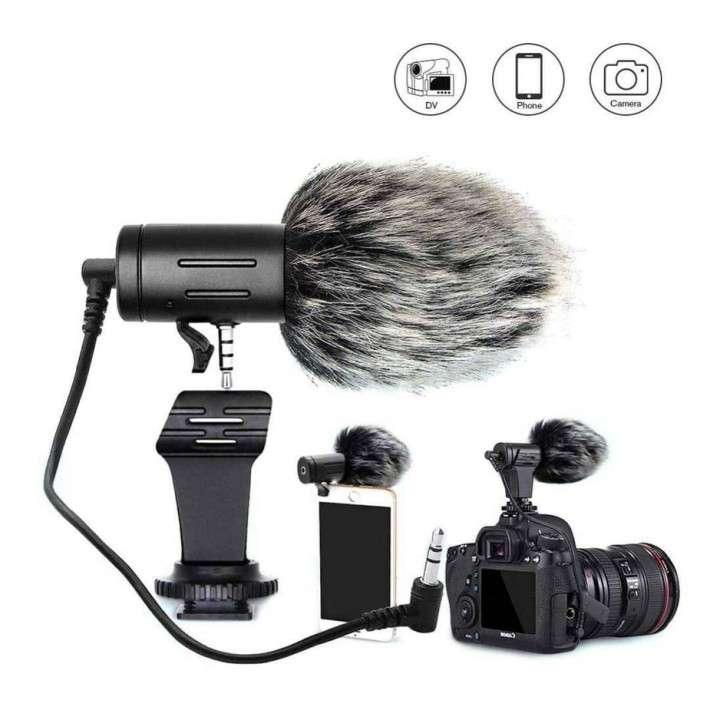 Micrófono para cámara y celular - 0