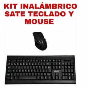Kit teclado y mouse inalámbrico Sate