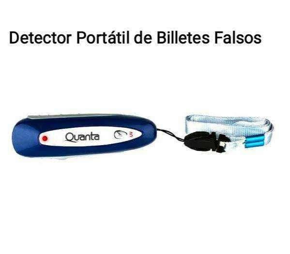 Detector portátil de billetes falsos - 0