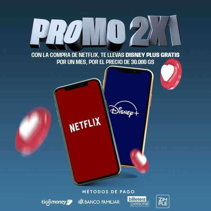 Netflix y Disney - 0