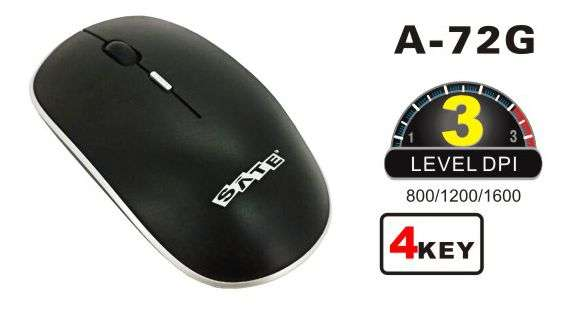 Mouse inalámbrico Sate - 0