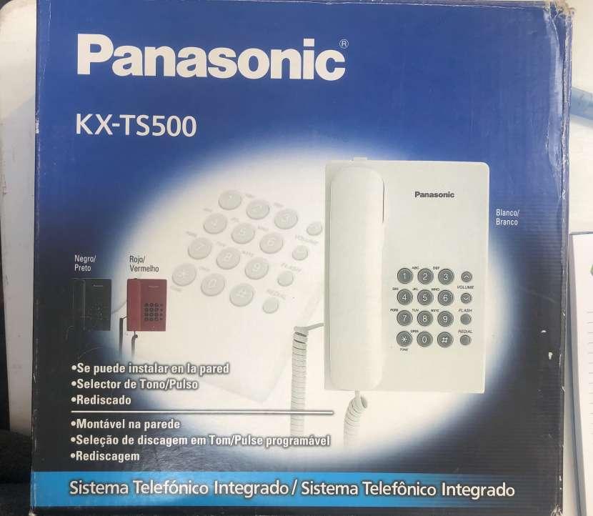 Teléfono Panasonic KX-TS500 - 0