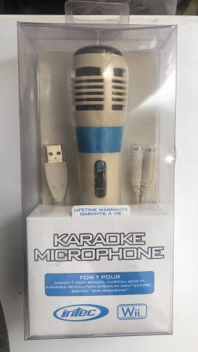 Micrófono karaoke para Wii