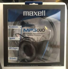 Audífonos MP3 Dúo Maxell