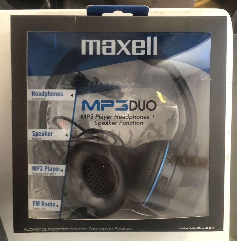 Audífonos MP3 Dúo Maxell - 0