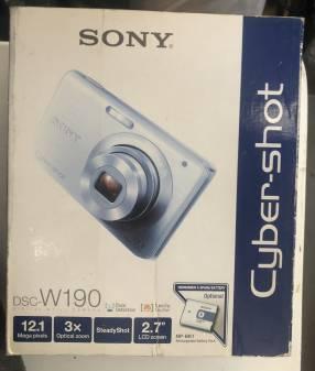 Cámara Sony DSC-W190
