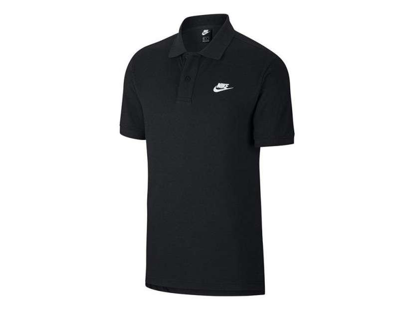 Remera con cuello negro Nike para caballero talle S al XL - 0