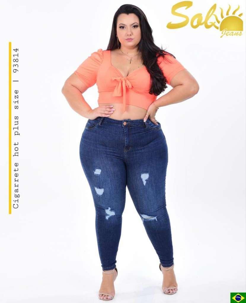 Jeans brasilero plus SOL93814 - 0