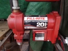 Bomba de fluídos Fill Rite de 20gpm 12V