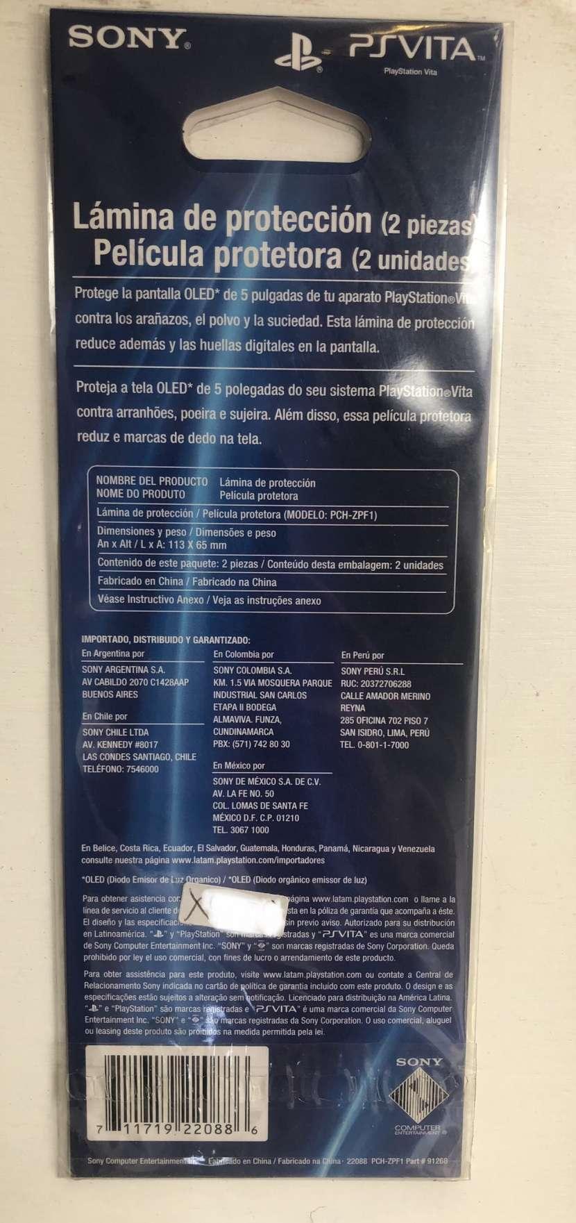 Lámina de protección PS-Vita - 1