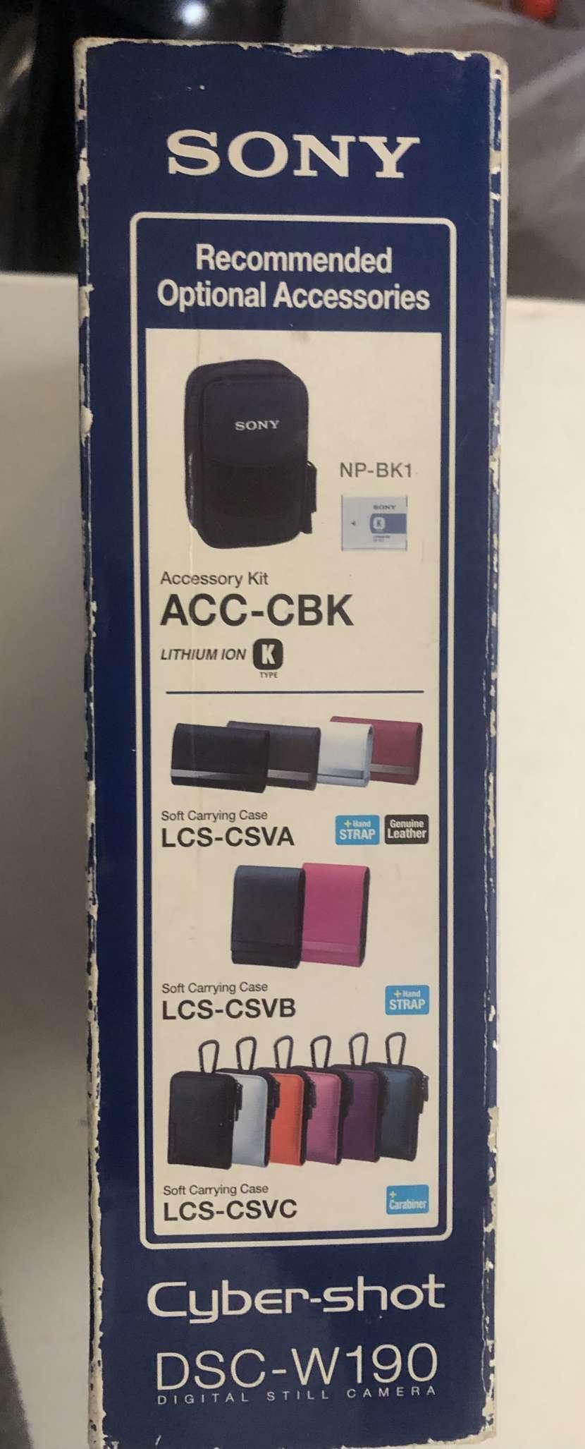 Cámara Sony DSC-W190 - 1