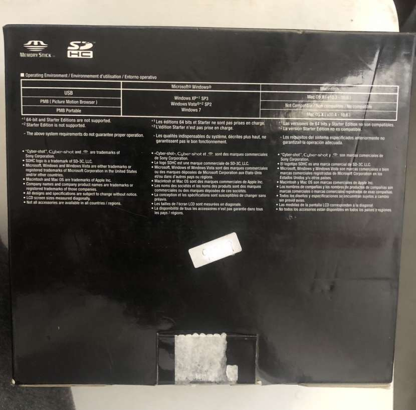 Cámara Sony DSC-W510 - 2