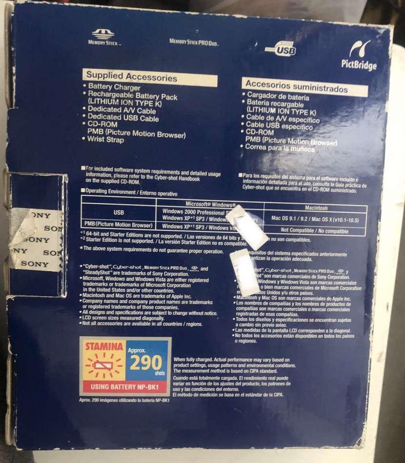 Cámara Sony DSC-W190 - 2
