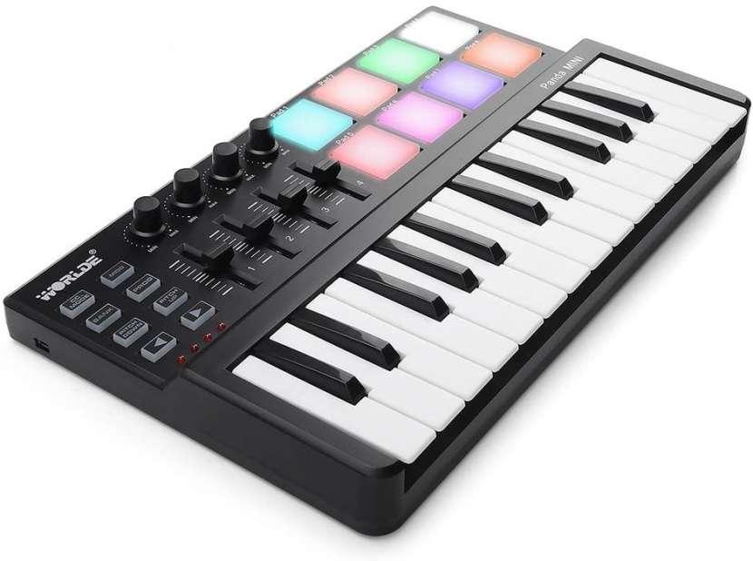 Controlador MIDI USB con pads - 0