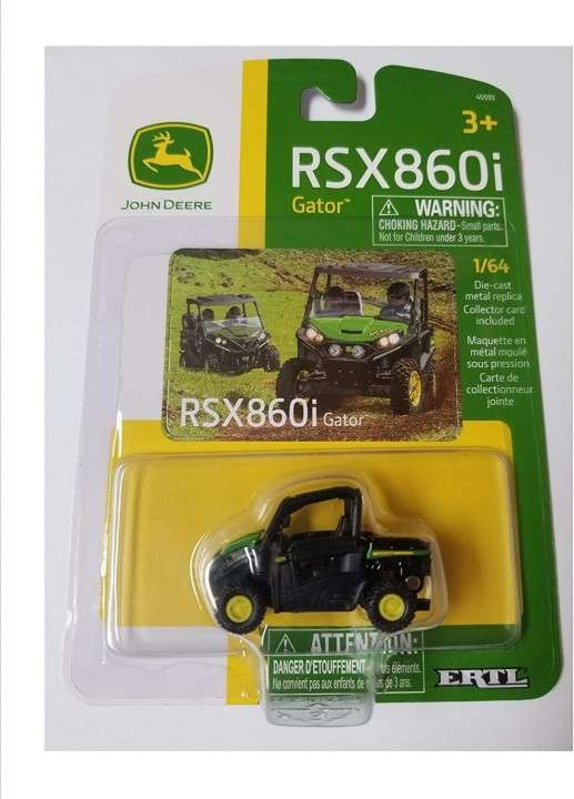 John Deere RSX860I Gator a escala 1:64 - 1