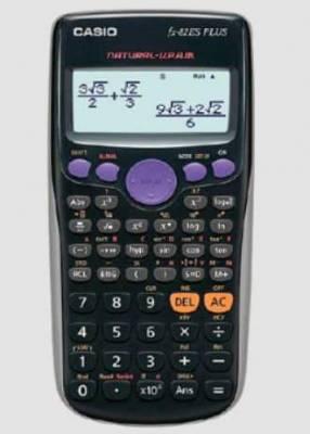 Calculadora Científica Casio Fx-82es Plus Bk Negro