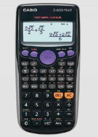 Calculadora Científica Casio Fx-82es Plus Bk Negro - 0