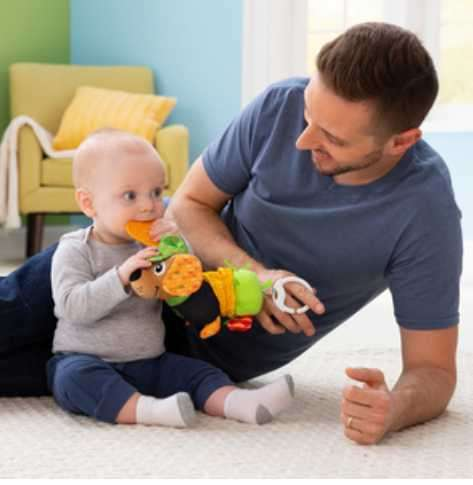Juguete perrito interactivo para bebé John Deere - 2