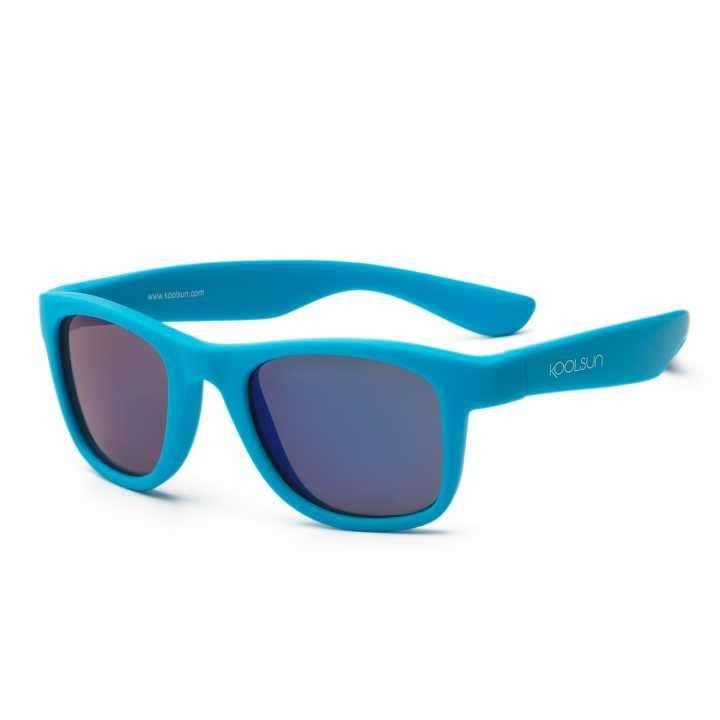 Lente de sol para niños Koolsun Wave Neon Blue 1 a 5 años - 1