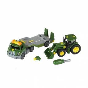 Transportador con tractor para armar de John Deere