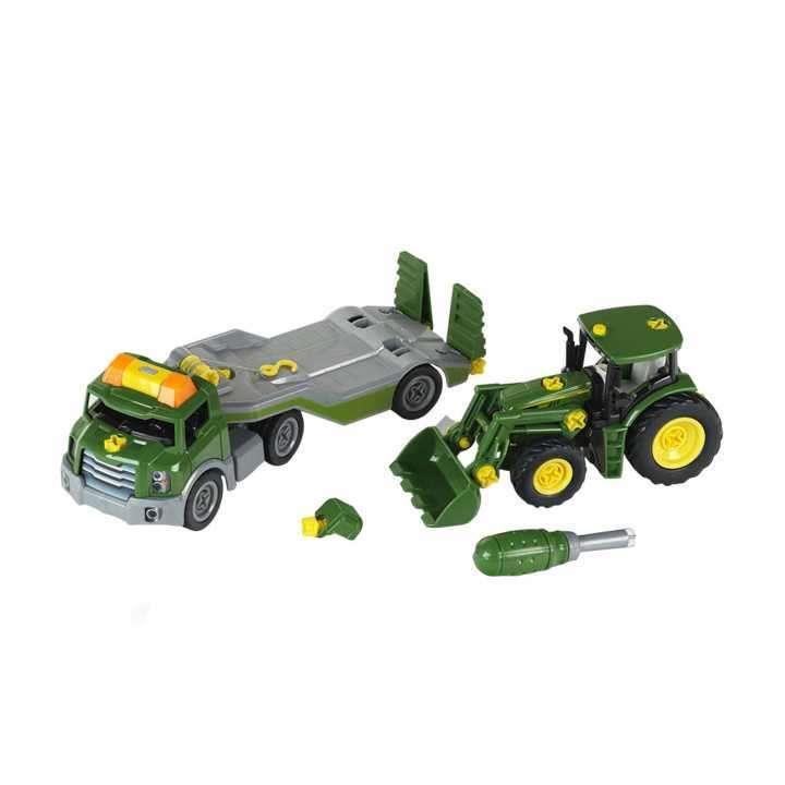Transportador con tractor para armar de John Deere - 0