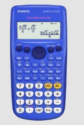 Calculadora Científica Casio Fx-82la Plus Buwdh3 Azul