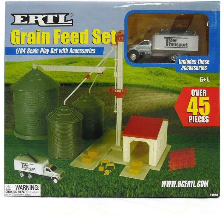 Set de silos para granoS ERTL 45 piezas - 1