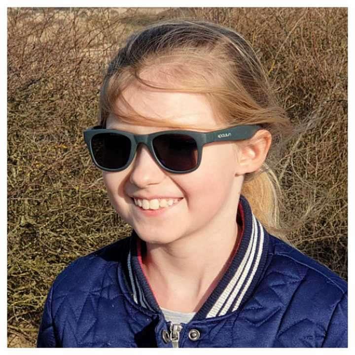 Lente de sol para niños Koolsun Wave Gunmetal 1 a 5 años - 2
