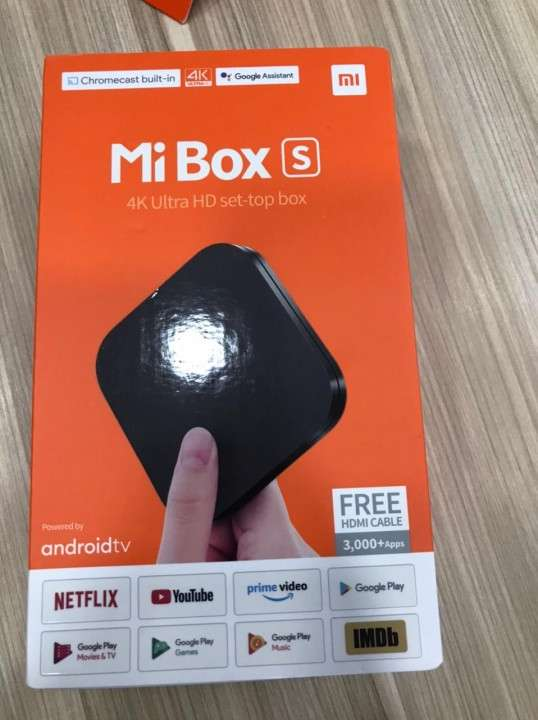 TV Box Xiaomi MI BOX 4K Android Smart - 1