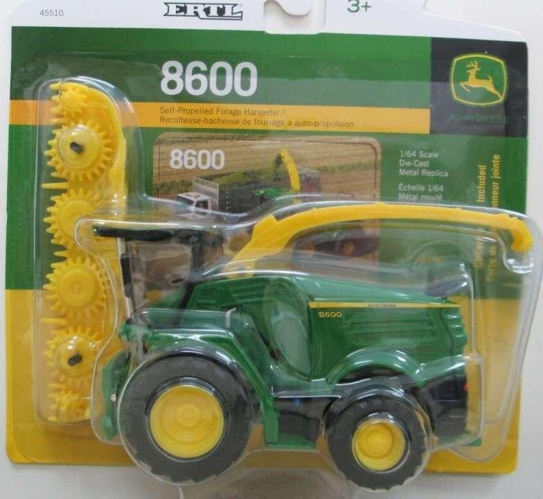 Cosechadora de forraje 8600 John Deere - 1