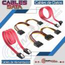 Cables SATA para conectar disco duro HDD y SSD - 0