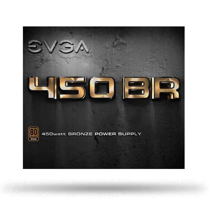 Fuente para PC 450W Silenciosa Power Supply EVGA - 1