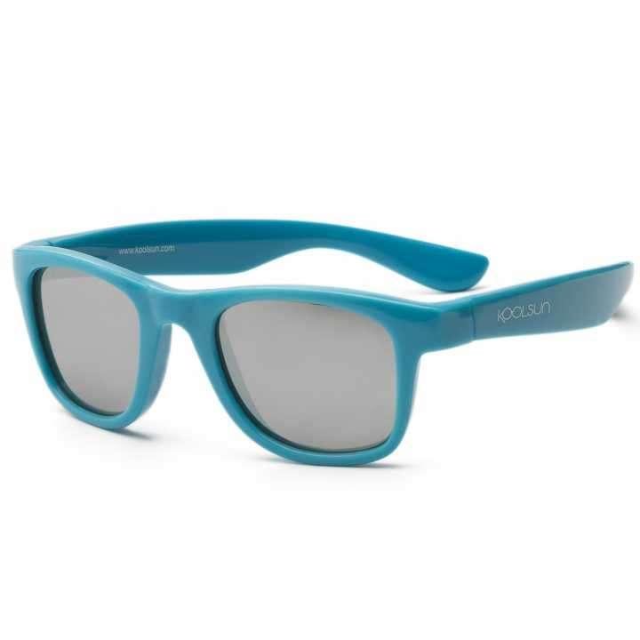 Lente de sol para niños Koolsun Wave azul cendre 1 a 5 años - 0
