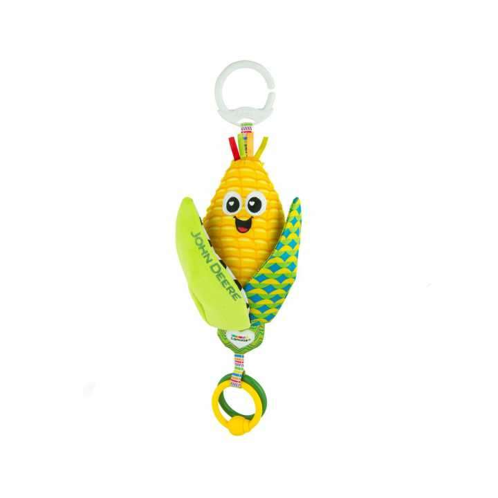 Sonajero para bebé de maíz de John Deere - 0