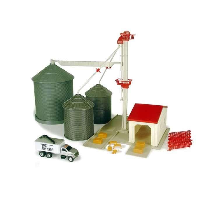 Set de silos para granoS ERTL 45 piezas - 0